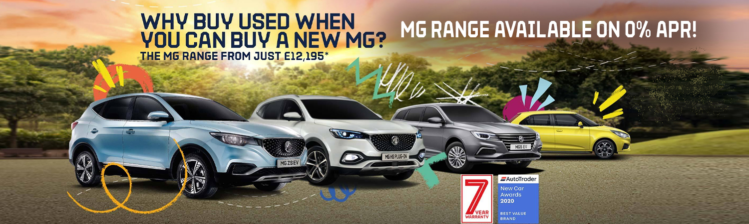 MG Range Available on 0% APR!