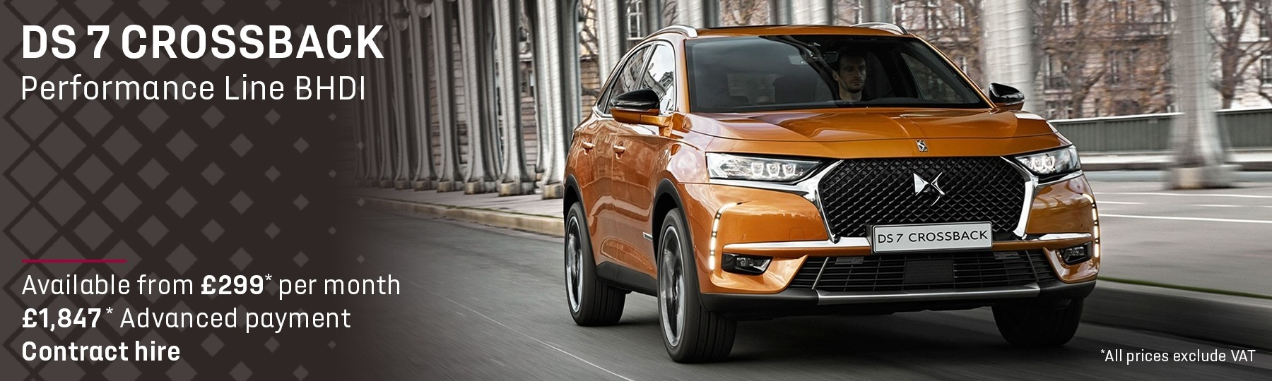 DS 7 CROSSBACK Leasing Offer
