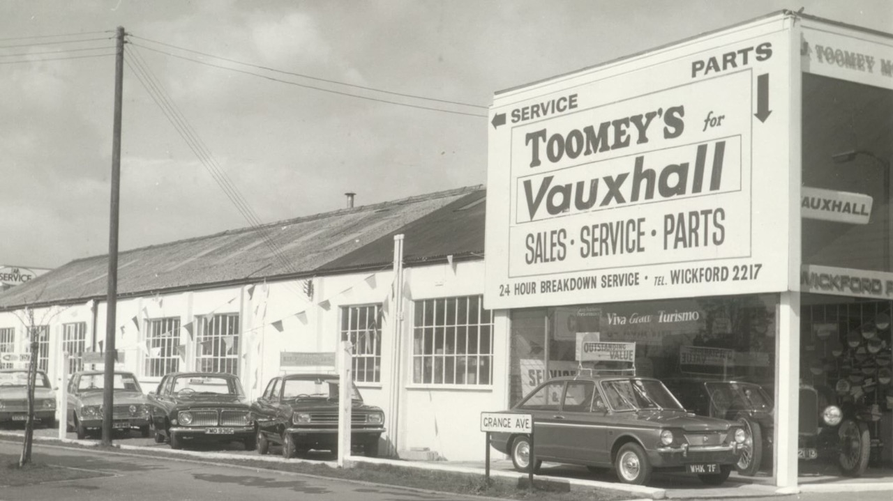 J Toomey Motors Wickford Circa 1969