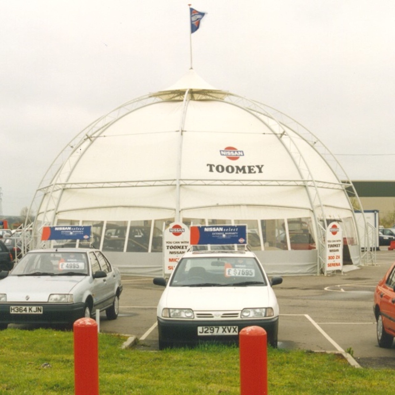 Toomey Nissan Show Dome